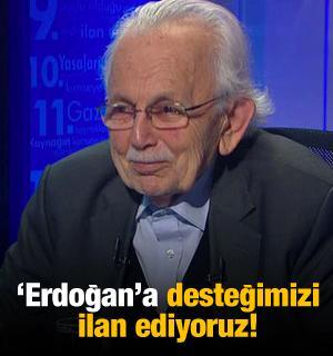 Said Nursi'nin talebesinden Erdoğan'a destek