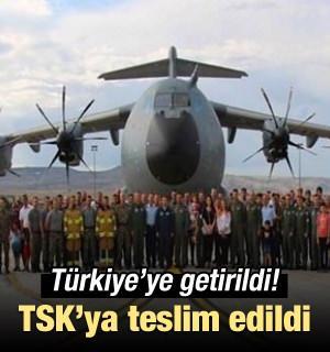 TSK'nın altıncı 'uçan kale'si geldi!
