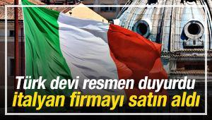 Türk devi İtalyan devinin tamamını satın aldı