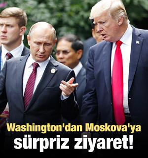 Washington'dan Moskova'ya sürpriz ziyaret!