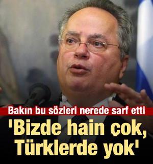 'Bizde hain çok, Türklerde yok'