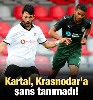 Kartal, Krasnodar'a şans tanımadı!