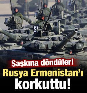 Rusya, Ermenistan'ı korkuttu! Şaşkına döndüler