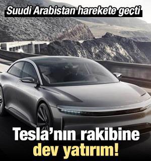 Suudi Arabistan Kamu Yatırım Fonu(PIF), elektrikli araçlar üretmek için finansmana ihtiyaç duyan Lucid Motors'a 1 milyar dolardan fazla yatırım yapacağını açıkladı.
