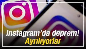 Instagram'da deprem! Ayrılıyorlar