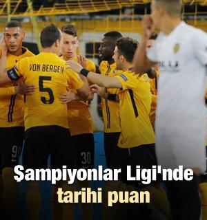 Şampiyonlar Ligi'nde tarihi puan
