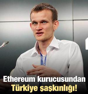 Ethereum`un kurucusundan Türkiye şaşkınlığı