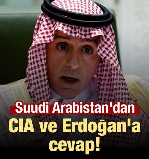 Suudi Arabistan'dan CIA ve Erdoğan'a cevap!