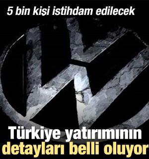 İşte Volkswagen'in Türkiye planının detayları!