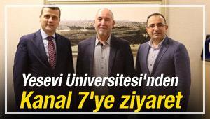 Yesevi Üniversitesi'nden Kanal 7'ye ziyaret