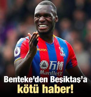 Benteke'den Beşiktaş'a kötü haber!