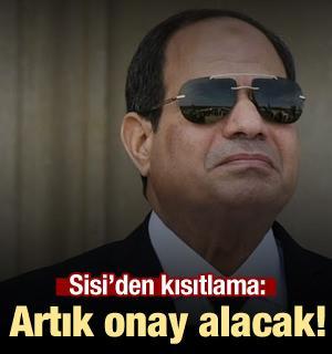 Sisi'den El-Ezher Şeyhi'ne kısıtlama! Onay alacak