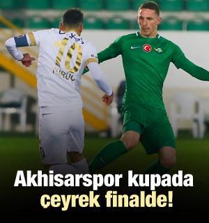 Akhisarspor kupada çeyrek finalde!