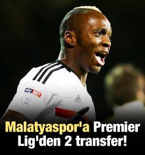Malatyaspor'a Premier Lig'den 2 transfer!