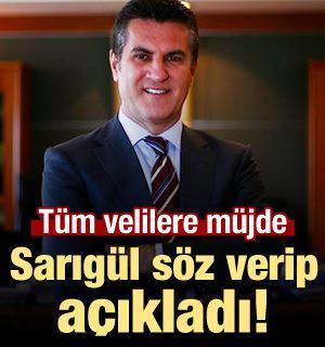 Mustafa Sarıgül'den tüm velilere müjde! Söz verip açıkladı
