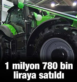 1 milyon 780 bin liraya satıldı