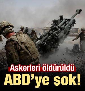 Afganistan'da ABD askerleri öldürüldü!