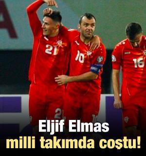 Eljif Elmas milli takımda coştu!