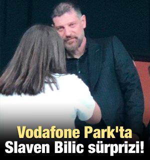 Vodafone Park'ta Slaven Bilic sürprizi!
