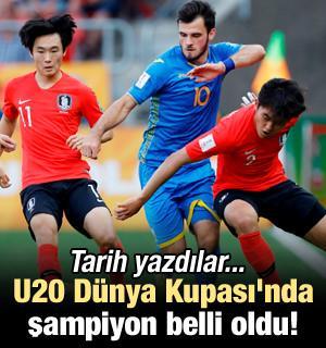 U20 Dünya Kupası'nda şampiyon belli oldu!