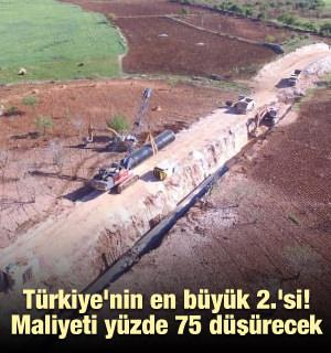 Türkiye'nin en büyük 2.'si! Maliyeti yüzde 75 düşürecek