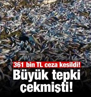 Büyük tepki çekmişti!! 361 bin lira ceza kesildi
