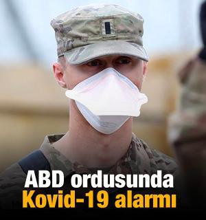 ABD ordusunda Kovid-19 alarmı